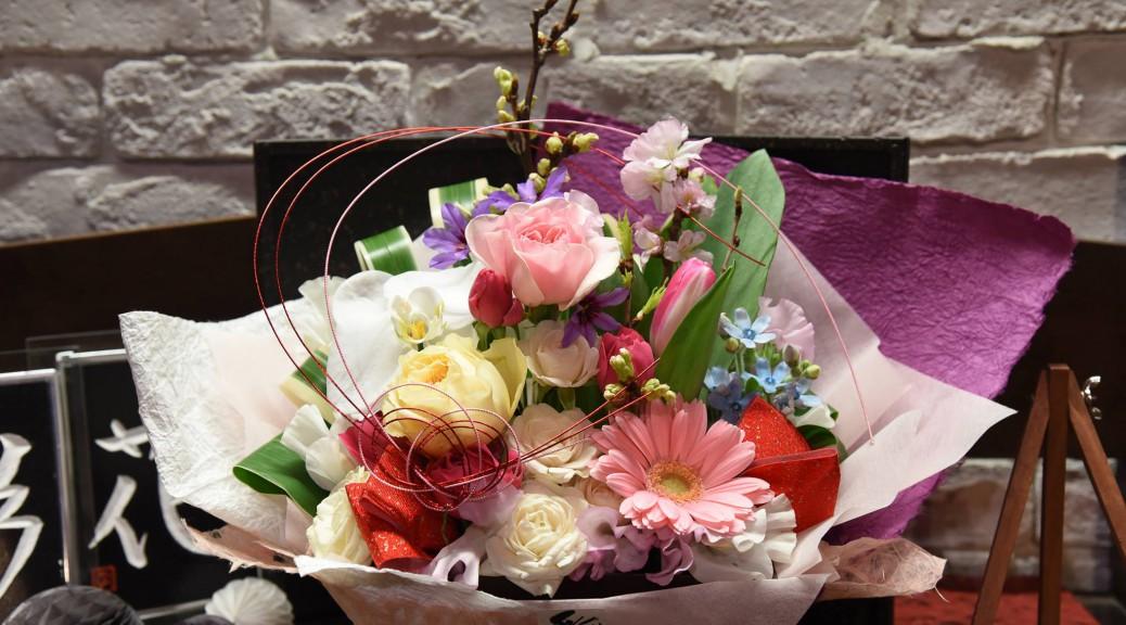 春 お誕生日のお祝い 1